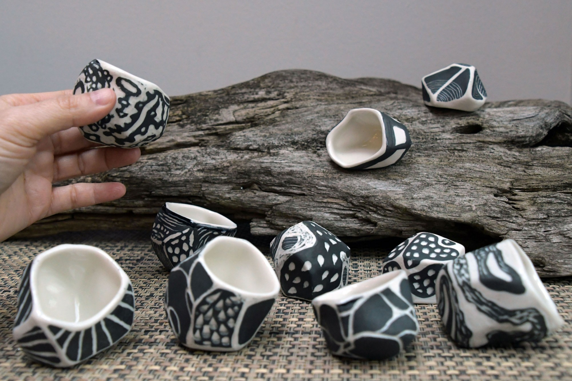 Collaboration with artist Wendy Letven: Tea Cups